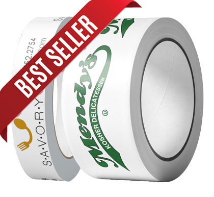 "1"" roll and 2"" roll of economy polypropylene tape"