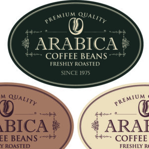 Oval Stickers and Labels