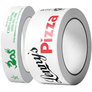 "1"" roll and 2"" roll of PVC tape"