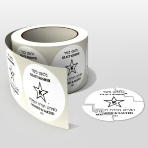 tamper evident sticker label